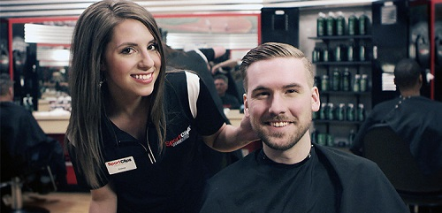 Sport Clips Haircuts of Stateline​ stylist hair cut